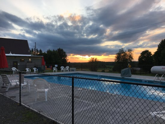 Richfield Springs, NY: Take a dip in the newly renovated pool