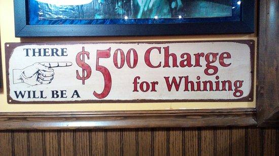 Cabot, أركنساس: Fun signage