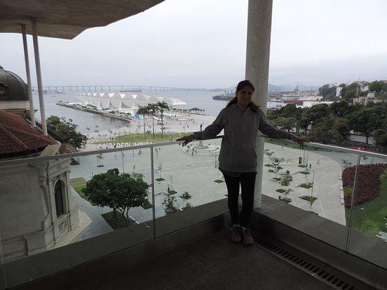 Museu de Arte do Rio - MAR: Balcón del MAR