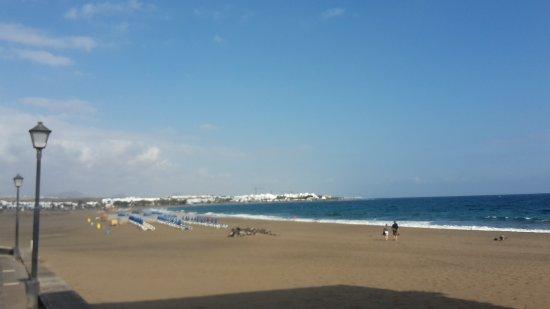 Schoner Breiter Strand Bild Von Hotel Riu Paraiso Lanzarote