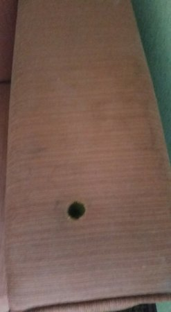 "La Quinta Inn & Suites Ft Lauderdale Cypress Creek: Mystery stains and cigarette burns on couch in ""smoke free"" room."