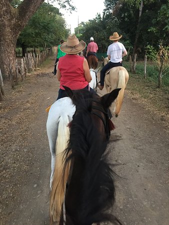 Casagua Horses Tours: Riding with the fam!