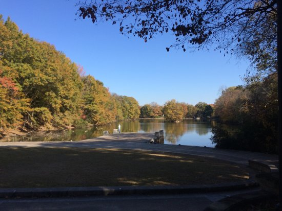 Piedmont Park: Pond from the other side