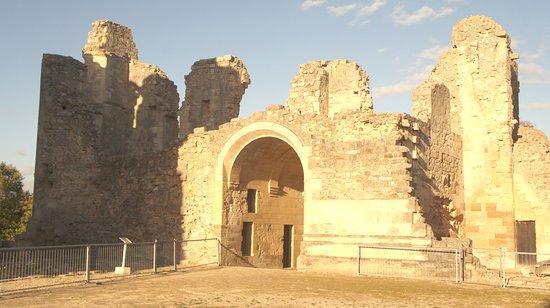 Fere-en-Tardenois, Frankrike: O Château de Fère n tardois em ruínas, um castelo fortificado do século XIII