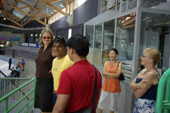 Pyrenees Homestay: i was in Norway 2008 . visit .sports stadium.. in Hamer...