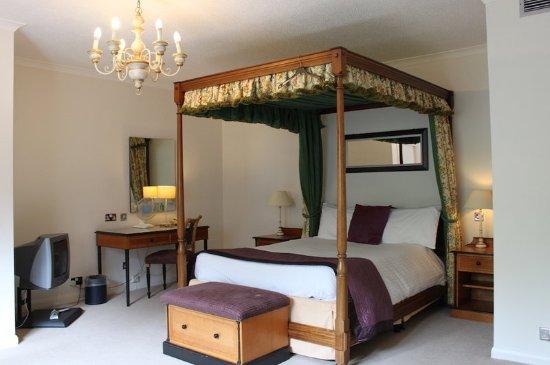 Mollington, UK: Guest room