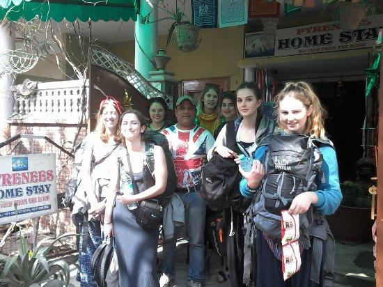 Pyrenees Homestay: GROUP TRAVELER..