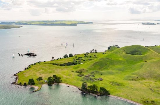 Auckland Helicopter Tour and Waiheke...