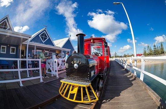 バッセルトン桟橋2時間パッケージ:桟橋列車と海中展望台