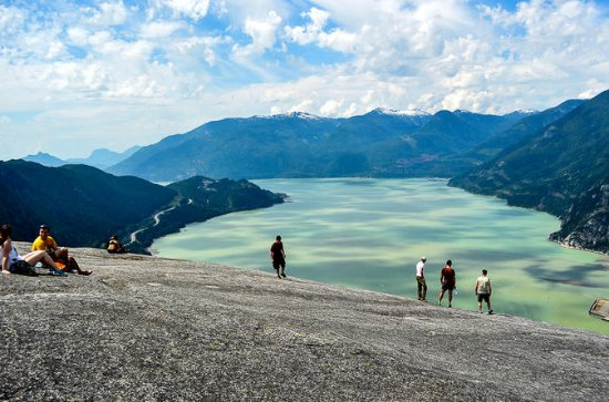 Stawamus Chief Hike e tour fotografico