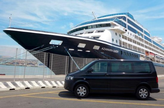 Private transfer from Civitavecchia...