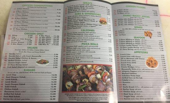 Westbrook, ME : menu
