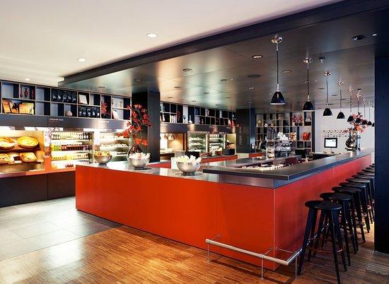 citizenM Glasgow: Restaurant