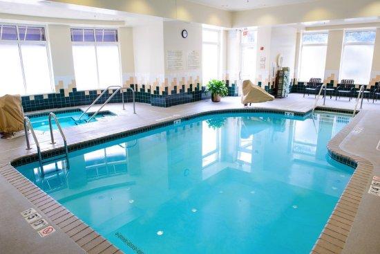 Hilton Garden Inn Rochester Downtown : Pool