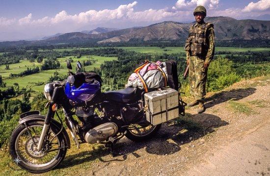 Nueva Delhi, India: Royal Enfield Motorcycle