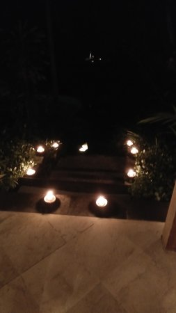 Pita Maha Resort and Spa: romantic candle