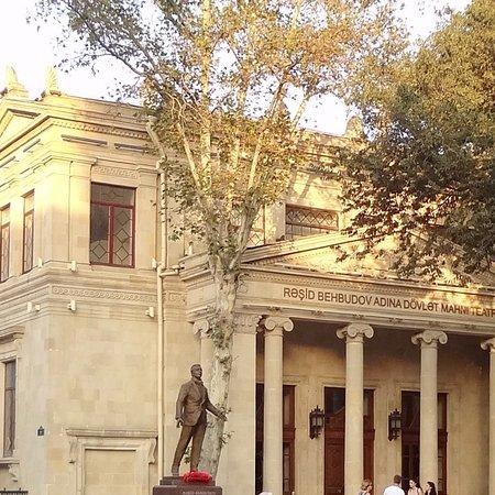 Rashid Behbudov Statue
