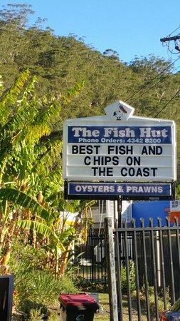 Blackwall, Australia: The Fish Hut