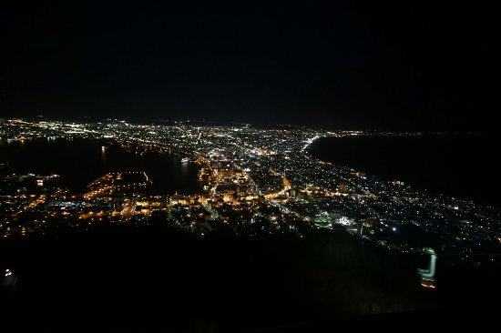 Mount Hakodate : 函館山「百萬夜景」