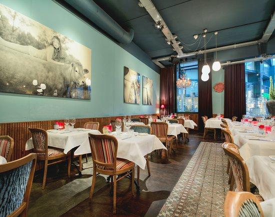 Restaurant van den Berg: restaurant