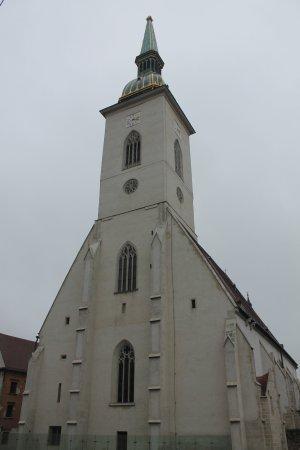 St. Martin's Cathedral (Dom svateho Martina): Facciata Cattedrale di San Martino
