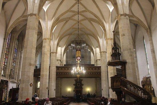 St. Martin's Cathedral (Dom svateho Martina): Interno Cattedrale di San Martino