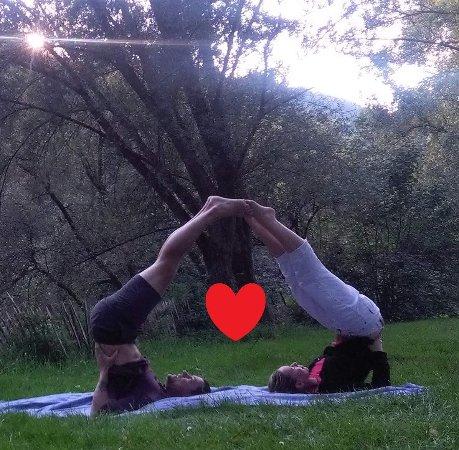 Melle, België: Partner yoga sessie/workshop