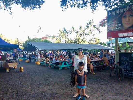 Ngatangiia, Ilhas Cook: Murri Night Markets! YUM YUM