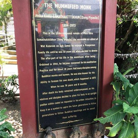 Wat Khunaram (Mummified Monk) : photo2.jpg