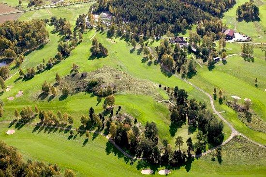Flyg bild Nyköpings GK