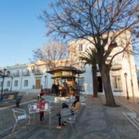 Villafranca de los Barros, Spanje: Terraza - bar