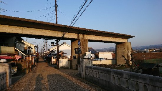 Goshin Railway Remains