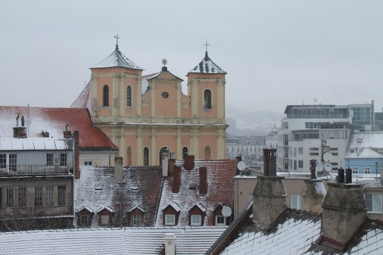 St. Michael's Tower & Street: Panorama dalla Torre di San Michele