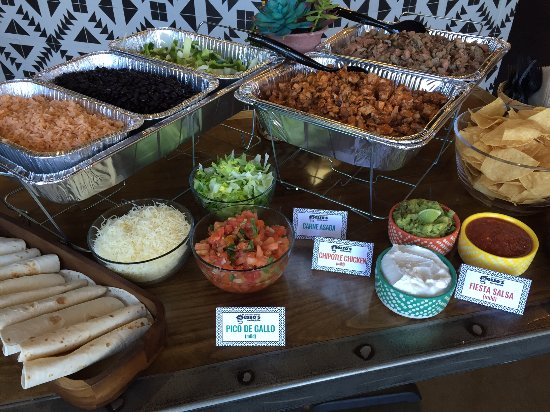 Locust Grove, Géorgie : We Cater. Our taco bar.