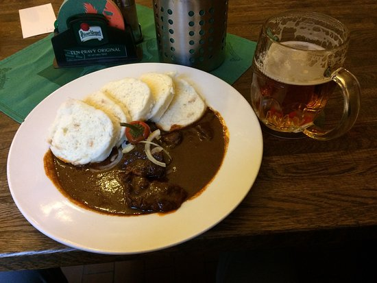 U Veverky  Restaurant: Perfect with great beer