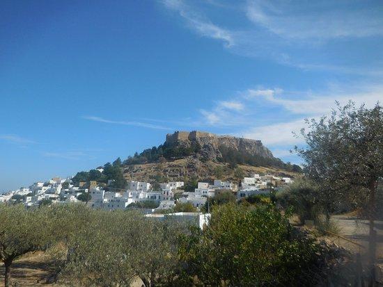 Acrópolis de Lindos: acropole
