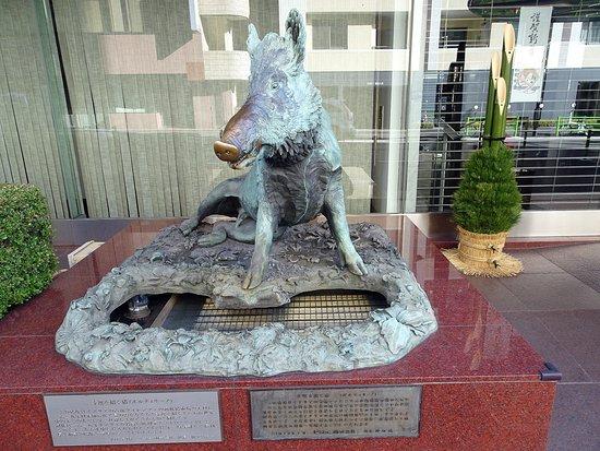 Porcellino Statue