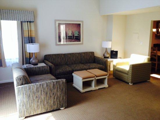 Sea Mist Resort: Renovated Townhouse Living room area