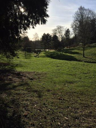 Ightham, UK: The garden