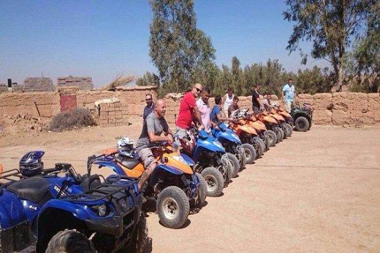 Lalla Takerkoust, Morocco: Une agence spécialisée dans l'organisation d'excursions et de Raids en Quads & Buggys sous l'enc