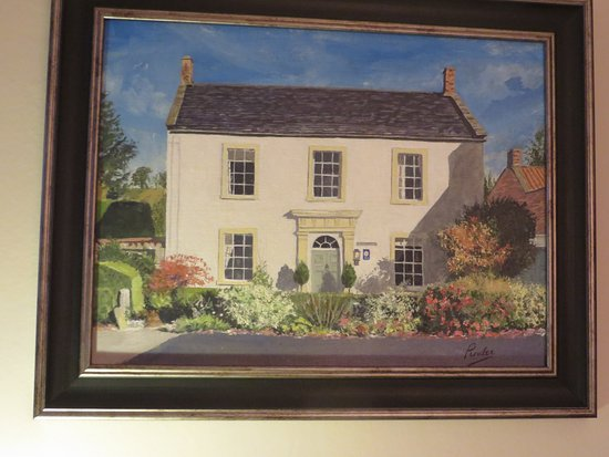 Croscombe, UK: Paradise House painted by a good friend
