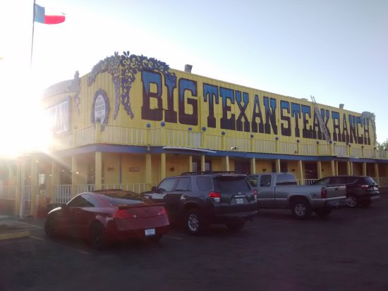 can t miss it picture of big texan steak ranch amarillo tripadvisor