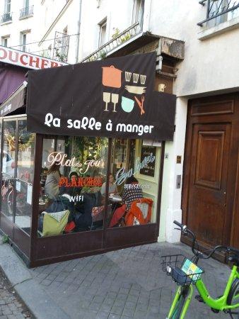 La salle manger paris quartier latin restaurant for Restaurant la salle a manger paris