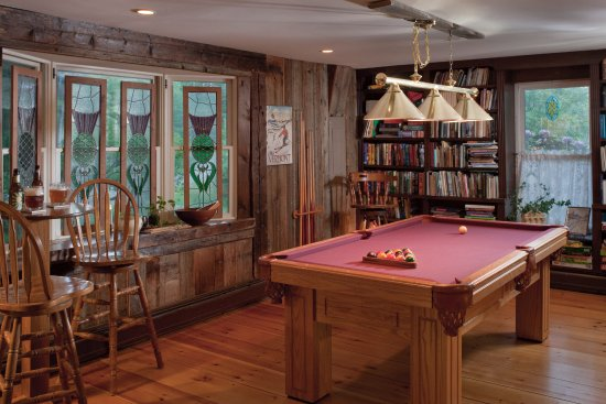Warren, VT: The Library Pool Table