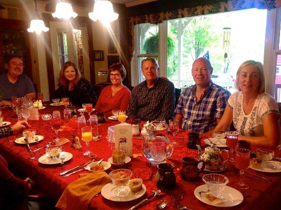 Warren, Βερμόντ: Breakfast in the dining room