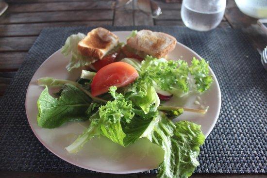 Torio, Panama: Fresh salads
