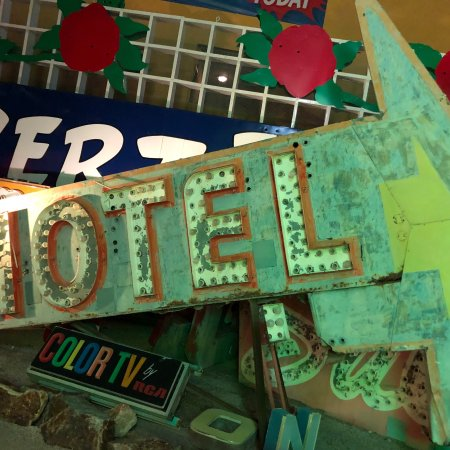 The Neon Museum: Neon museum was all expected and more