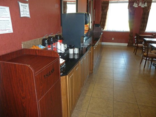 Gun Barrel City, Teksas: Breakfast Area
