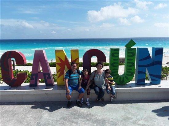 Playa Delfines: Estamos en Cancun