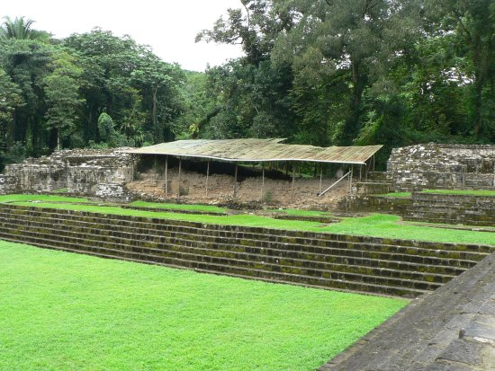 Archaeological Park and Ruins of Quirigua: L'acropole